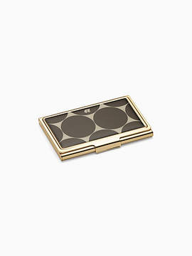 Kate Spade Down to business card holder - A - STYLE