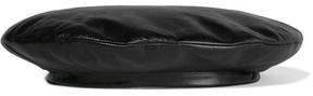Gucci - Leather Beret - Black