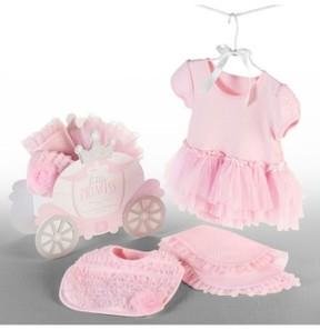 Baby Aspen Infant Girl's Little Princess 3-Piece Gift Set