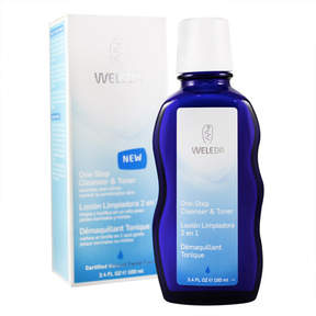 Weleda One Step Cleanser and Toner by 3.4oz Cleanser)