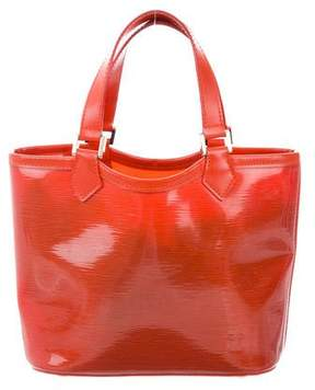 Louis Vuitton Epi Plage Mini Lagoon Bay Bag - ORANGE - STYLE
