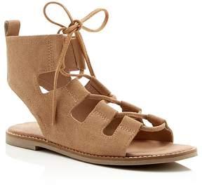 Matisse Shells Lace Up Gladiator Flat Sandals