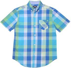 Chaps Boys 4-20 Stretch Plaid Button-Down Shirt