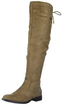 XOXO Womens Trishh2 Suede Closed Toe Mid-calf Fashion Boots.