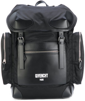 Givenchy military multi-pocket backpack
