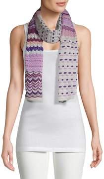 Missoni Women's Printed Knit Scarf