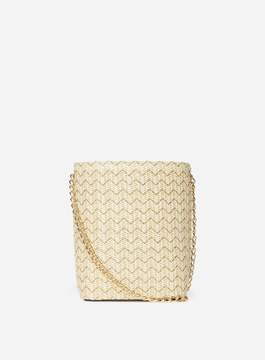 Dorothy Perkins Neutral Weave Cross Body Bag