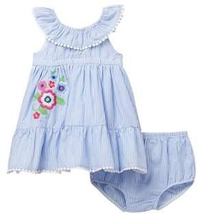 Little Me Floral Sundress Set (Baby Girls)