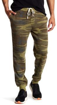 Alternative Camo Print Fleece Joggers