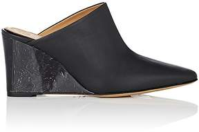 The Row Women's Flora Leather Mules