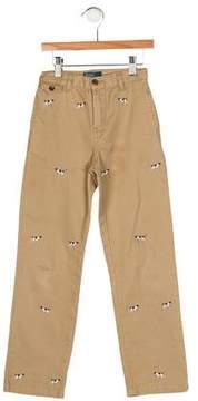 Polo Ralph Lauren Boys' Embroidered Pants