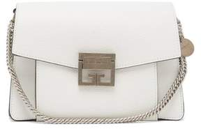 Givenchy Gv3 Small Leather Cross Body Bag - Womens - White