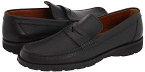 a. testoni Penny Loafer Moccasin Men's Slip on Shoes