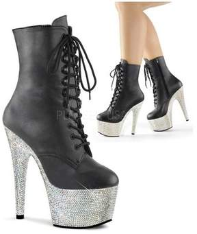 Pleaser USA Women's Bejeweled 1020-7 Ankle Boot