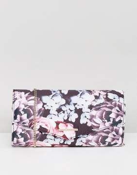 Lipsy Floral Clutch Bag