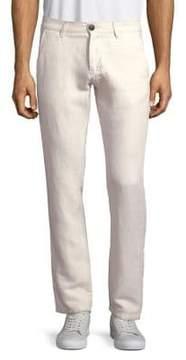 Selected Zipped Flat Front Pants
