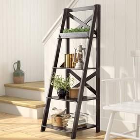 Brown Ladder Shelf
