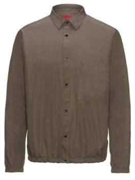 HUGO Boss Cotton Sport Shirt Erikson M Brown