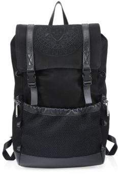 Balmain Leather Climb Backpack