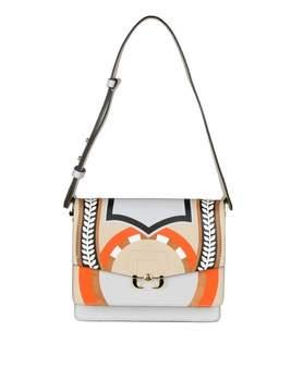 Paula Cademartori Twiggy Shoulder Bag In Leather