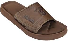 NCAA Adult Syracuse Orange Memory Foam Slide Sandals