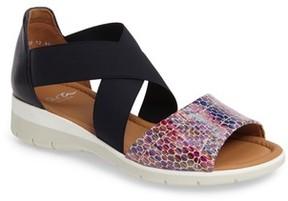 ara Women's Larissa Cross Strap Wedge Sandal