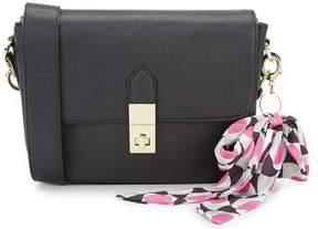 Kate Landry Scarf-Charm Cross-Body Bag
