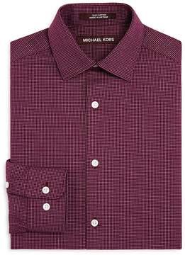 Michael Kors Boys' Mini Check Dress Shirt - Big Kid