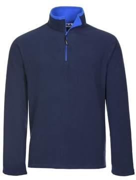 Fila Polartec Fleece Quarter Zip Sweatshirt Navy Blue XX-Large