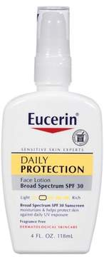 Eucerin Daily Protective Facial Lotion SPF30 4oz