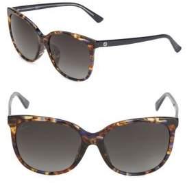 Gucci 58MM Gradient Wayfarer Sunglasses
