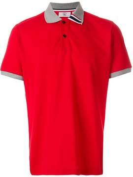 Rossignol contrast collar polo shirt