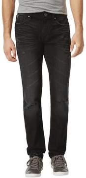 GUESS Mens Slim Straight Leg Jeans 31x34 Black Bespoke Wash
