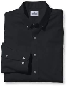 L.L. Bean L.L.Bean Wrinkle-Free Poplin Shirt, Long-Sleeve