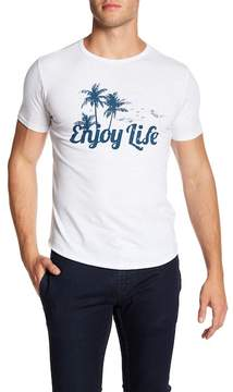 Kinetix Enjoy Life Graphic Print Tee