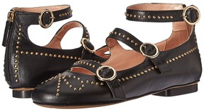 Moschino Studded Strappy Flat Women's Shoes