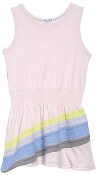 Splendid Rainbow Stripe Tank Dress