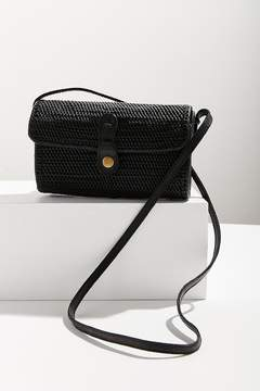 Urban Outfitters Ida Straw Crossbody Bag