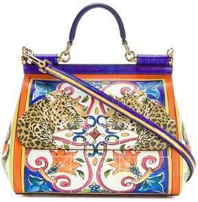 Dolce & Gabbana Sicily printed shoulder bag