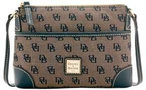 Dooney & Bourke Madison Signature Ginger Pouchette Shoulder Bag - BLACK - STYLE