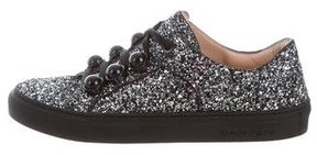 Carven Glitter Low-Top Sneakers