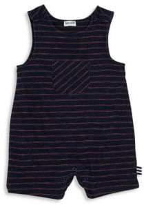Splendid Baby's Yarn-Dyed Stripe Romper