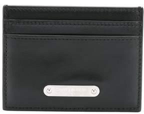 Saint Laurent Men's Black Leather Card Holder.