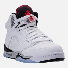 Nike Kids' Grade School Air Jordan Retro 5 Basketball Shoes