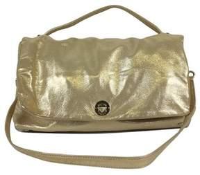 Kate Spade Gold Metallic Suede Shoulder Bag - GOLD - STYLE