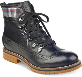 Tommy Hilfiger Ollia Lace-Up Booties Women's Shoes