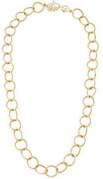 Coomi 20K Diamond Oval Link Necklace