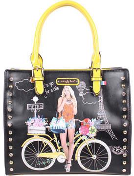 Nicole Lee Spring Ride Print Tote Bag (Women's)