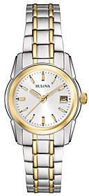 Bulova Women's Two-tone Stainless Steel Bracelet Watch