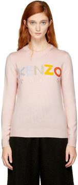 Kenzo Pink Logo Sweater